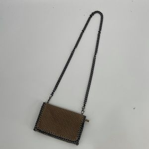 Borse In Pelle Genuine Leather Embossed Crossbody
